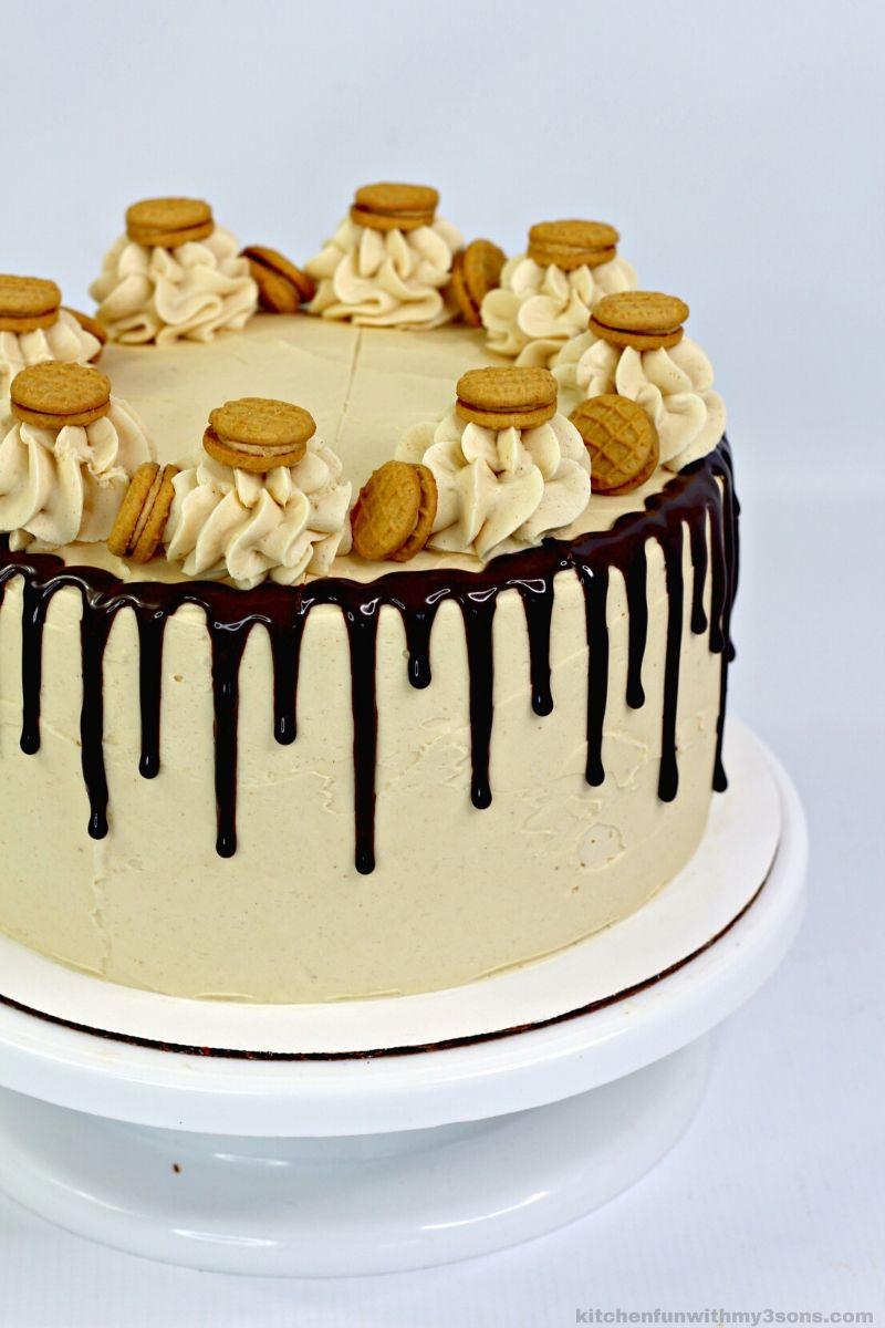 Reese's Nutter Butter Peanut Butter Cake Recipe