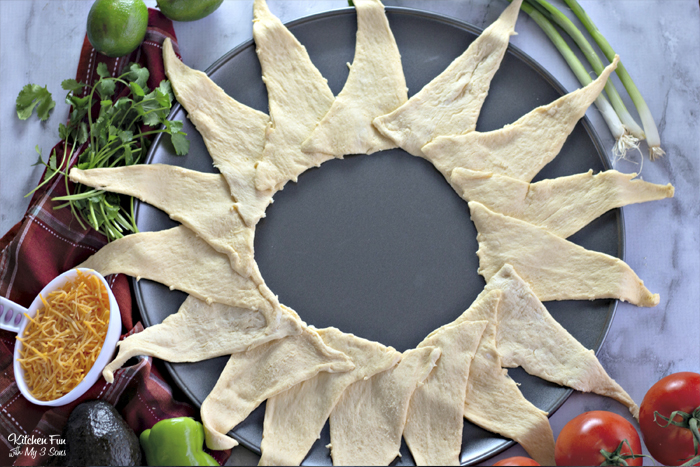 How To Make A Taco Ring