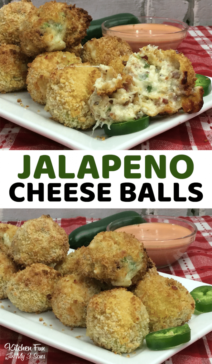 Air Fryer Jalapeno Bacon Cheese Balls