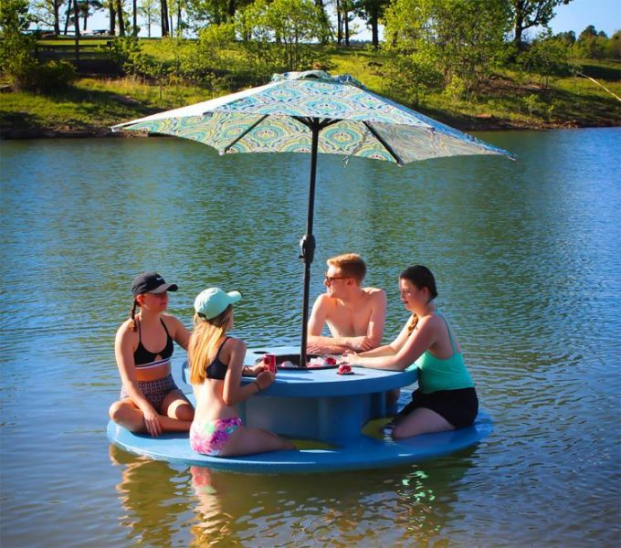 Floating Picnic Table for the Lake or Pool