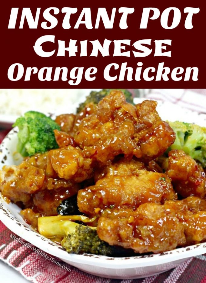 Instant Pot Chinese Orange Chicken