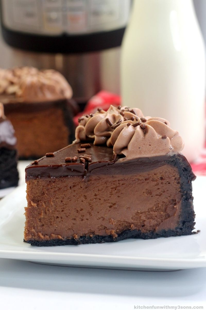 instant pot nutella cheesecake