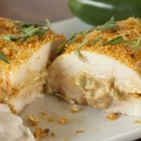 Jalapeno Popper Stuffed Chicken