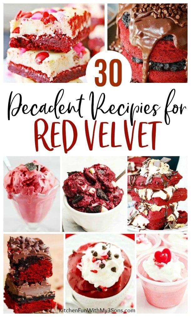 30 of the BEST Red Velvet Desserts