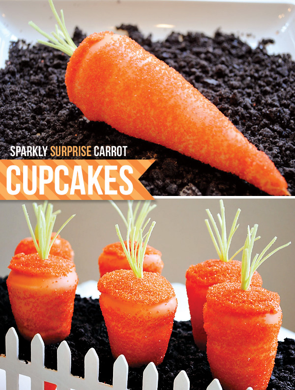 Surprise Carrot Cupcakes