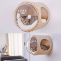 Bubble Wall Cat Bed