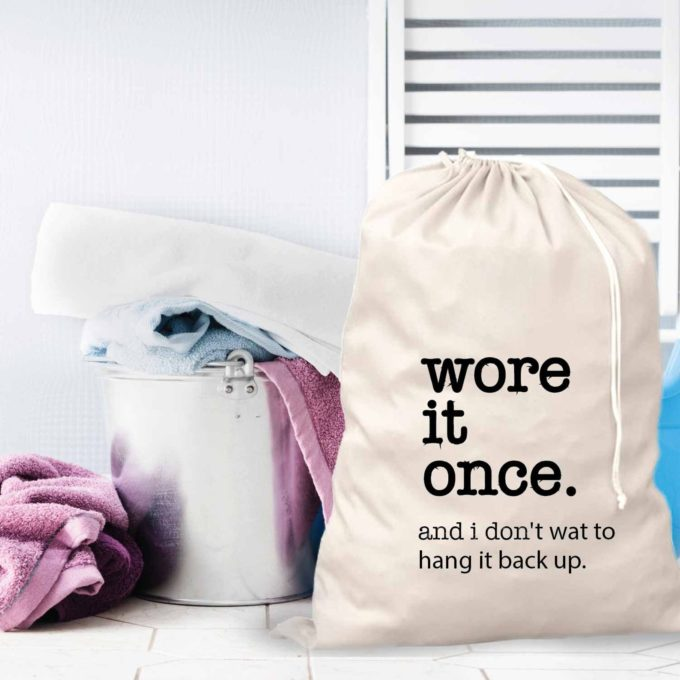 Wore it Once Laundry Bag