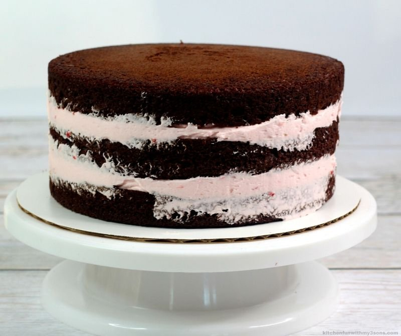 3 layers of cake