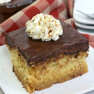 Cuppa Joe Coffee Caramel Cake