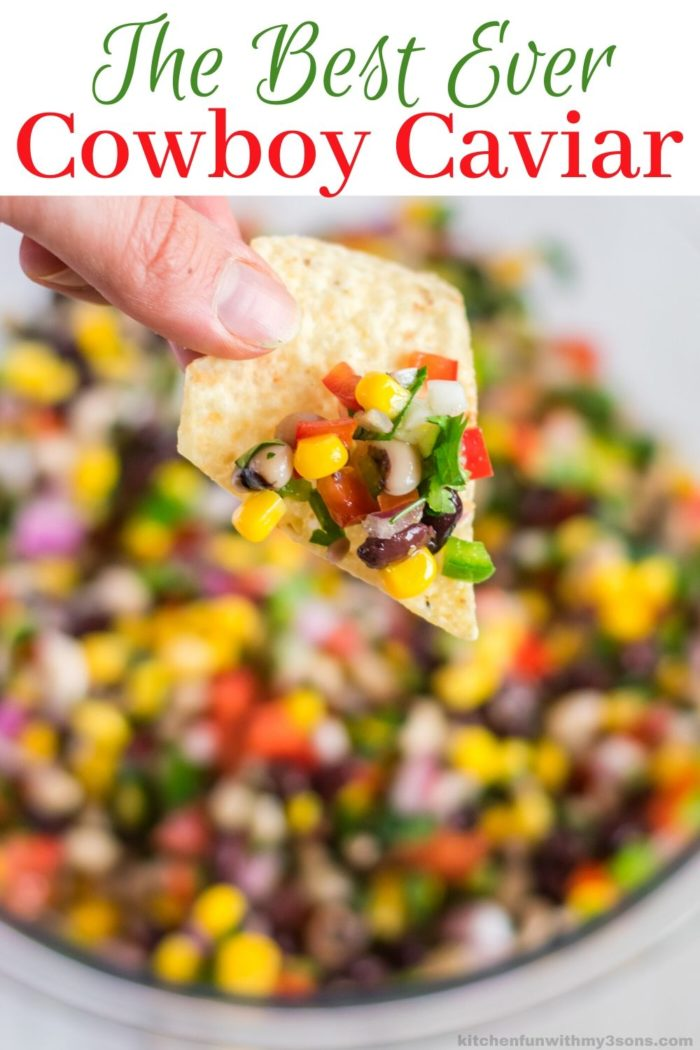 The Best Ever Cowboy Caviar for pinterest