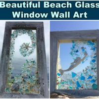 Beach Glass Window Wall Art