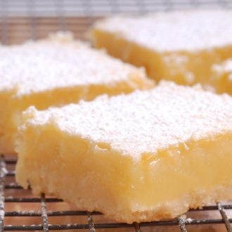 Best Lemon Bars Recipe with Shortbread Crust