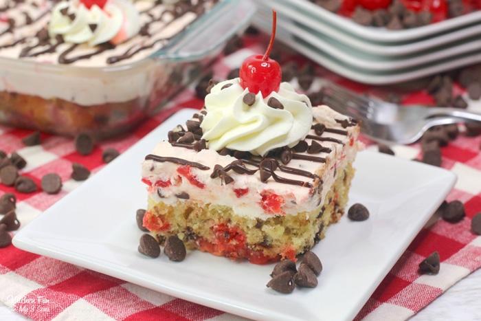 Cherry Garcia Cake