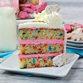 Circus Animal Cookie Cake