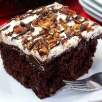 New York Fudge Chocolate Sheet Cake