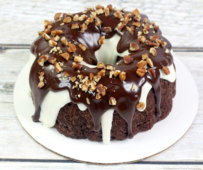 New York Fudge Instant Pot Chocolate Cake