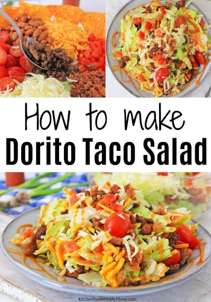 How To Make Dorito Taco Salad
