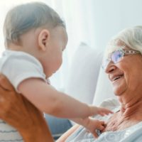 Granparents Stay Away from Grandchildren during Covid-19