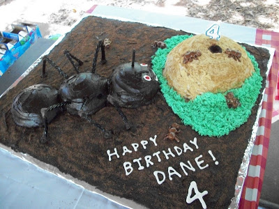 Ant Birthday Cake