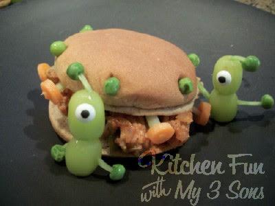 Sloppy Joe UFO Sandwich