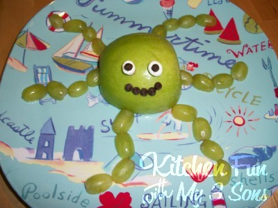 Octopus Fruit Snack for Kids