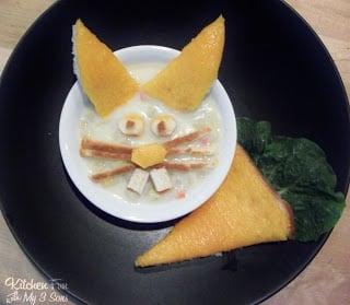 Baked Bunny Potato Soup and Cheesy Carrot Toast