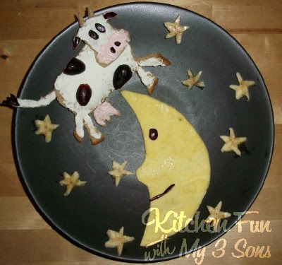 The Cow Jumped Over the Egg Breakfast
