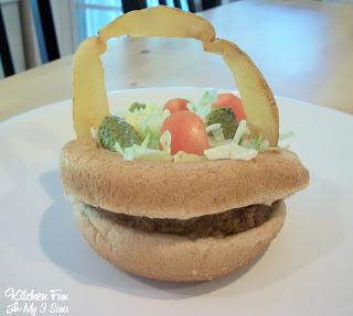 Easter Burger Basket