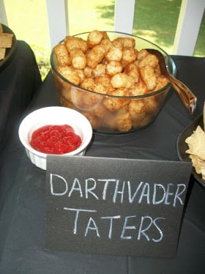 Lots of Star Wars Party Ideas!