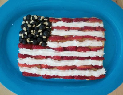 American Flag Pancake
