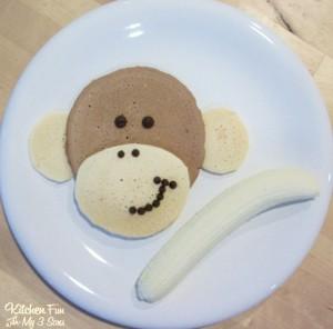 Morning Monkey Pancakes for Breakfast!