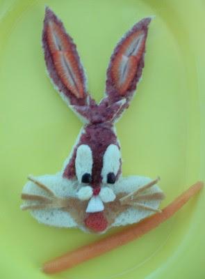 PB&J Bugs Bunny Lunch