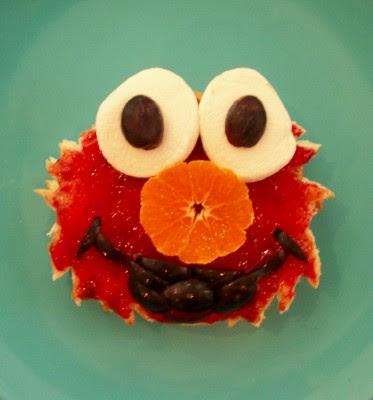 Elmo PB&J Lunch