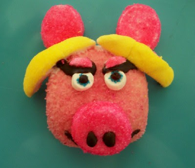 Mr. Pig & Mrs. Piggy Sno Balls