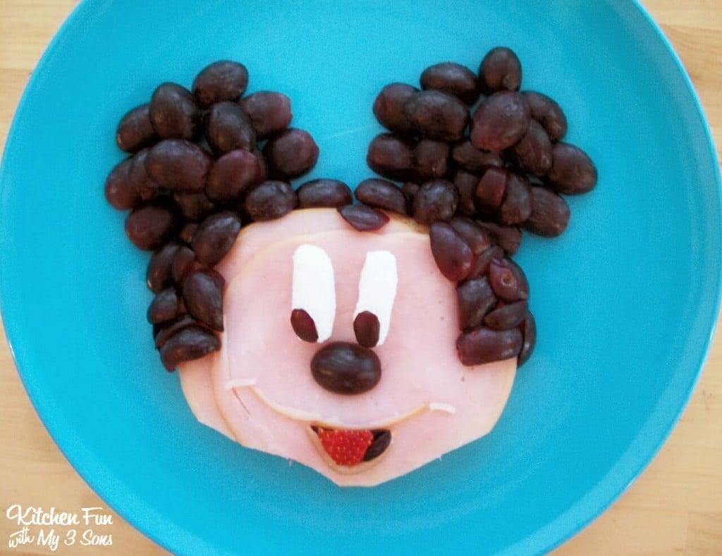 Mickey Mouse Sandwich