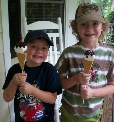 Ice Cream S'mores Pops!