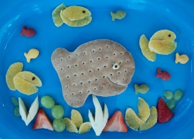 Goldfish Whole Wheat Bread Lunch