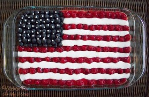 4th of July Flag Dessert
