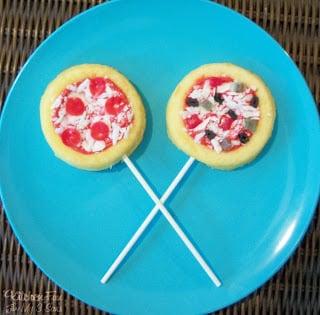 Pizza Cake Pops!