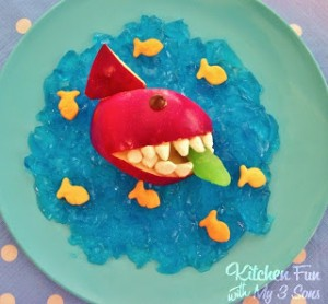Shark Attack Snack!