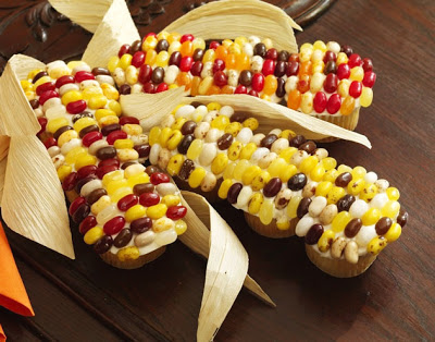 Corn On The Cobb Cupcakes