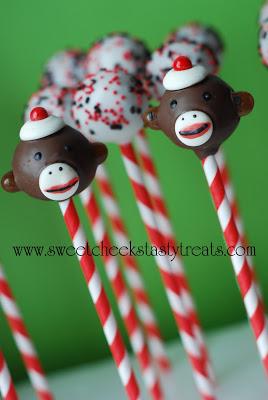 Sock Monkey Pops