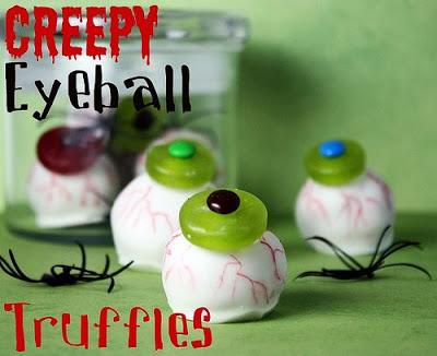 Eye Ball Truffles