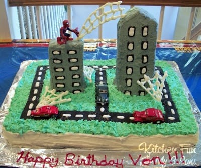 Spider Man Party Party Ideas