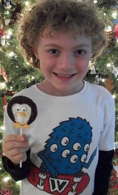 York Peppermint Patty Penguin Pops!
