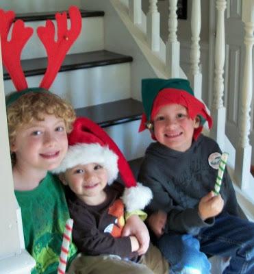 Christmas Chocolate Pretzel Rods