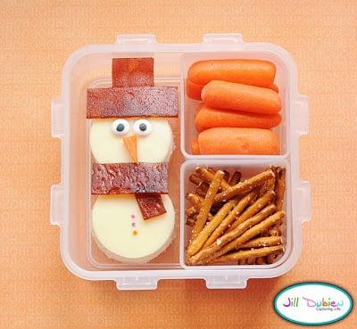 Snowman Lunch