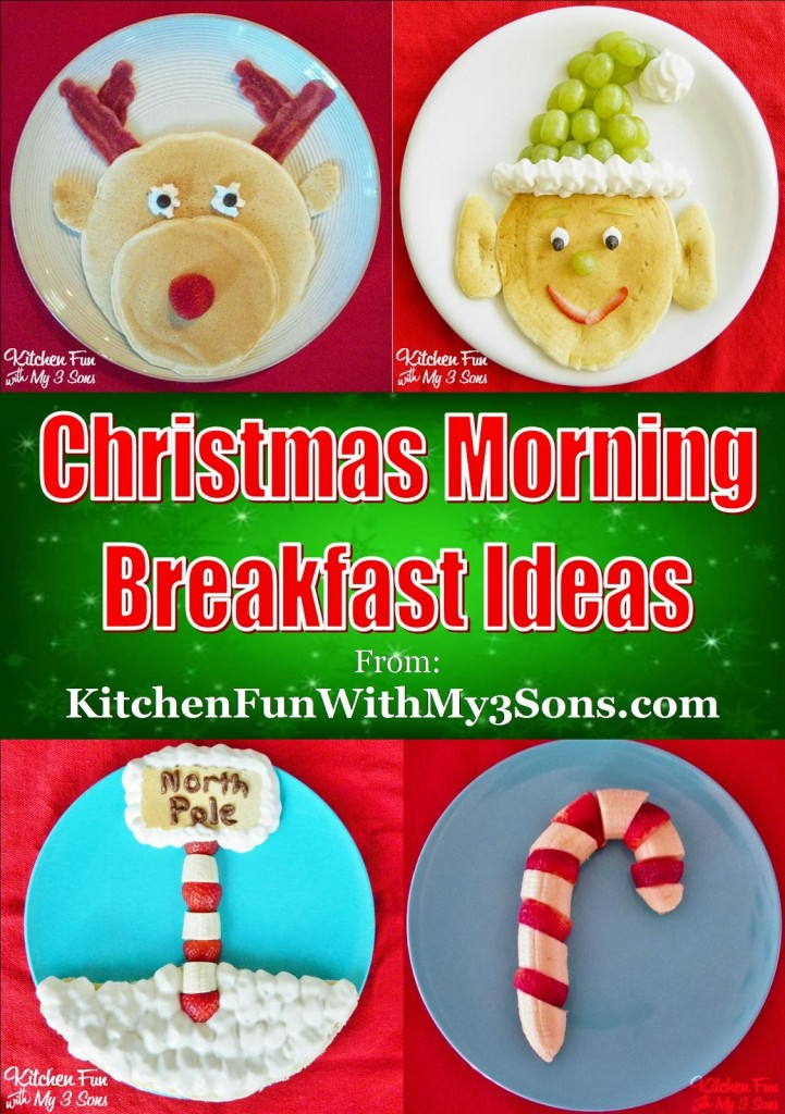 rudolph pancakes for a christmas breakfast kitchen fun. Black Bedroom Furniture Sets. Home Design Ideas