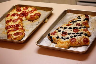 Christmas Pizza's