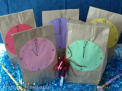 New Years Eve Countdown Party Bags
